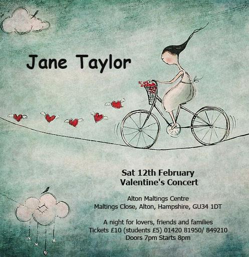 Valentine's gig poster artowrk